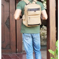 Jual BOURZU RICO 3 in 1 Backpack-Messenger-Handbag Genuine Leather Murah