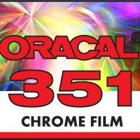 ORACAL 351-001 CHROME SILVER FILM