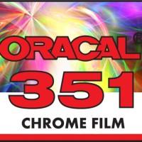 ORACAL 351-911 CHROME GOLD FILM