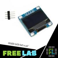 Modul OLED LCD dengan I2C