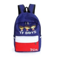 Korean Canvas TF Boys Backpack