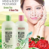 Hand Body Lotion Milano Ashley BPOM Halal 500ml 4 Variants
