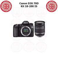 Kamera Canon EOS 70D + 18-200mm ; Camera 70 D Kit ; 20MP, Crop Sensor