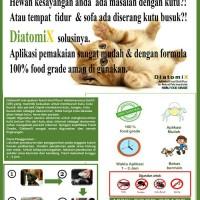 Jual DIATOMIX ( Obat pembasmi kutu pd kucing anjing dll 100% FOOD GRADE ) Murah