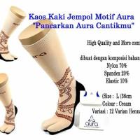 Jual Kaos kaki jempol Motif 001-012 Murah