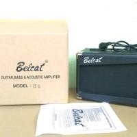 Jual ampli gitar belcat model 15 G distorsi Black Murah