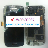 LCD TOUCHSCREEN FRAME SAMSUNG S4 MINI COMPLETE