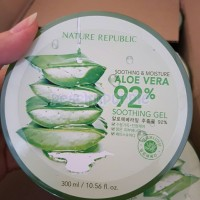 Nature Republic Aloe Vera 92% Soothing Gel 300ml 100% Original