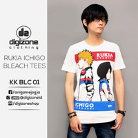 Kaos Anime Bleach Rukia X Ichigo KK BLC 01