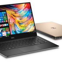 "Laptop DELL XPS 13 - i7-7500U/8GB/256Gb/13.3"" QHD Touch/Win 10 Pro"