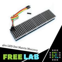 4in1 LED Dot Matrix Running Text Modul