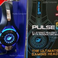 [ARMAGGEDDON] PULSE 6 Headset Gaming 2.1 Stereo [Blue Edition]