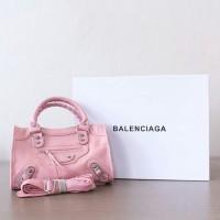 JUAL TAS BALENCIAGA BAG SOFT PINK MIRROR QUALITY
