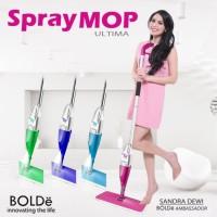 Spray MOP Ultima Original BOLDE (Stainless) Alat Pel Lantai Semprot