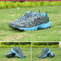 Jual Sepatu Outdoor Keta 193 - Grey Blue  / running / olahraga Murah