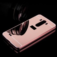 MIRROR CASE LG G2 G3 G4 casing hp back cover bumper metal hardcase