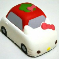 HK Car Squishy Mobil Hello Kitty
