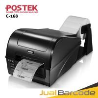 BARCODE PRINTER POSTEK C 168 - PRINTER LABEL BARCODE POSTEK C168