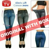 Slim and Lift Caresse Jeans Celana Pelangsing