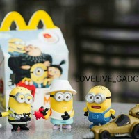 DESPICABLE ME 3 2017 happy meal mcd mcdonalds minion minions mainan