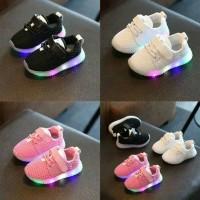 sneakers led anak sepatu led