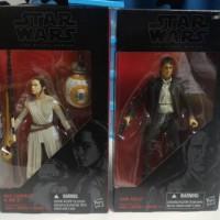 Jual Star Wars figure black series - Han Solo + Rey & BB8 Murah