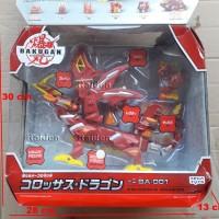 Bakugan Dragonoid Colossus (ORI) mainan robot naga