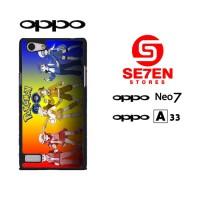 Casing HP Oppo Neo 7 (A33) Pokemon Go wallpaper 3 Custom Hardcase Cove