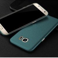 Jual Casing Samsung S7 Edge Baby Skin Ultra Thin Hard Back Case Green Murah