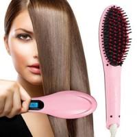 Jual Sisir Catokan Babyliss Pelurus Rambut - Fast Hair Straightener HQT-906 Murah