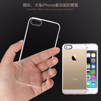 totu crystal clear ultra slim transparent protective case for iphone 5