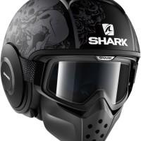 Helm SHARK RAW DRAK SANCTUS BLACK NOT ARAI SHOEI NOLAN XLITE HJC AGV