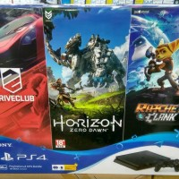 Jual Sony PS4 / Playstation 4 Slim 500GB Hits Bundle Edition Murah