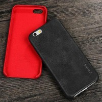 iphone 6 plus leather cover retro hard soft case x-level casing bumper