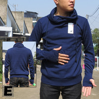 Sweater Rajut Harajuku Pria Greenlight Premium blue biru
