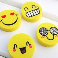 BANJIR PROMO Penghapus / Eraser Kecil Mini Gambar Motif Emoticon
