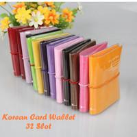 Jual Korean Card Wallet 32 Slot (Dompet khusus kartu, muat 32 kartu,)