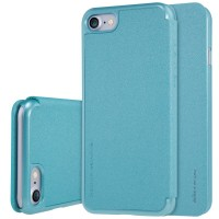 nillkin sparkle series new leather case for apple iphone 7 blue