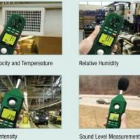 Extech EN300 5 in 1 Environment Meters Humidity Tempera Promo