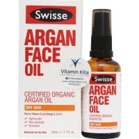 Swisse Argan Face Oil Dry Skin (50ml)