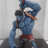 PVC Figure Nightmare Luffy Banpresto KW Scultures One Piece Baru