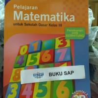 buku PELAJARAN MATEMATIKA SD 3B KELAS 3, la