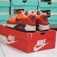Sepatu Casual Nike Air Max Lunar 90 Wr Hyper Crimson Original Murah