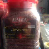 makanan ikan hias armada super red Chili 1250 gr