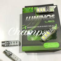Lampu Led Senja Strobo T10 Plasma 2 Mode Original Luminos Murah