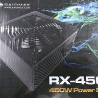 Raidmax 450W Power Supply ATX PSU RX450K RX450 RX-450K PSU 450 watt
