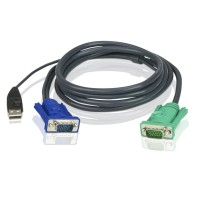 ATEN 2L-5202U 1.8 METER USB KVM CABLE