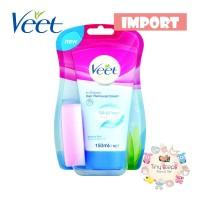 IMPORT Veet In Shower Hair Removal Cream for Sensitive Skin