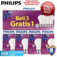 Jual Lampu LED Bulb Philips 13W Putih 13 W Watt 13W bohlam packing4pcs Murah
