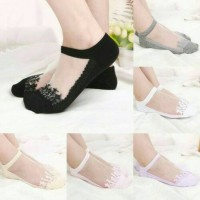 Kaos Kaki Lace Transparan Korean KPop Style/ cute socks